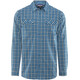 Patagonia M's High Moss LS Shirt Summit: Big Sur Blue